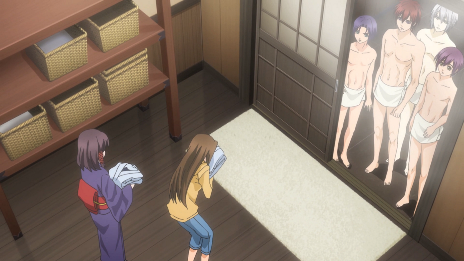 Hiiro no kakera seven coloured compass for Bathroom scenes photos